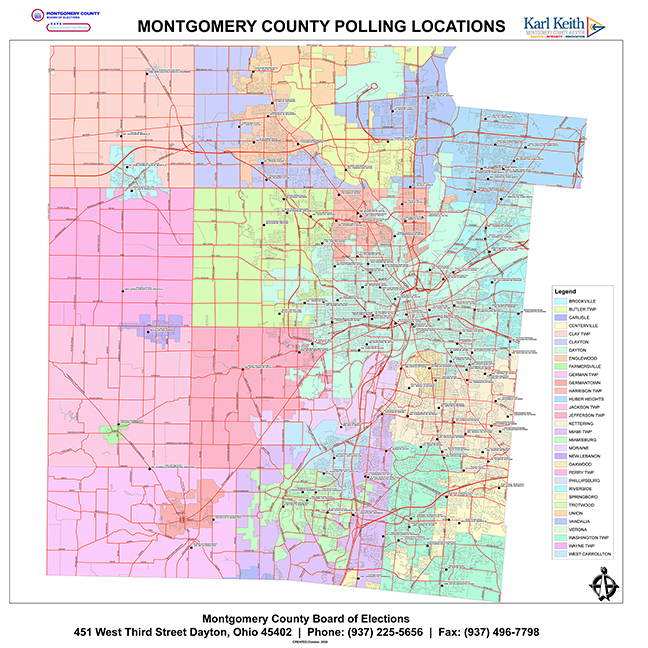 Montgomery County Polling Locations